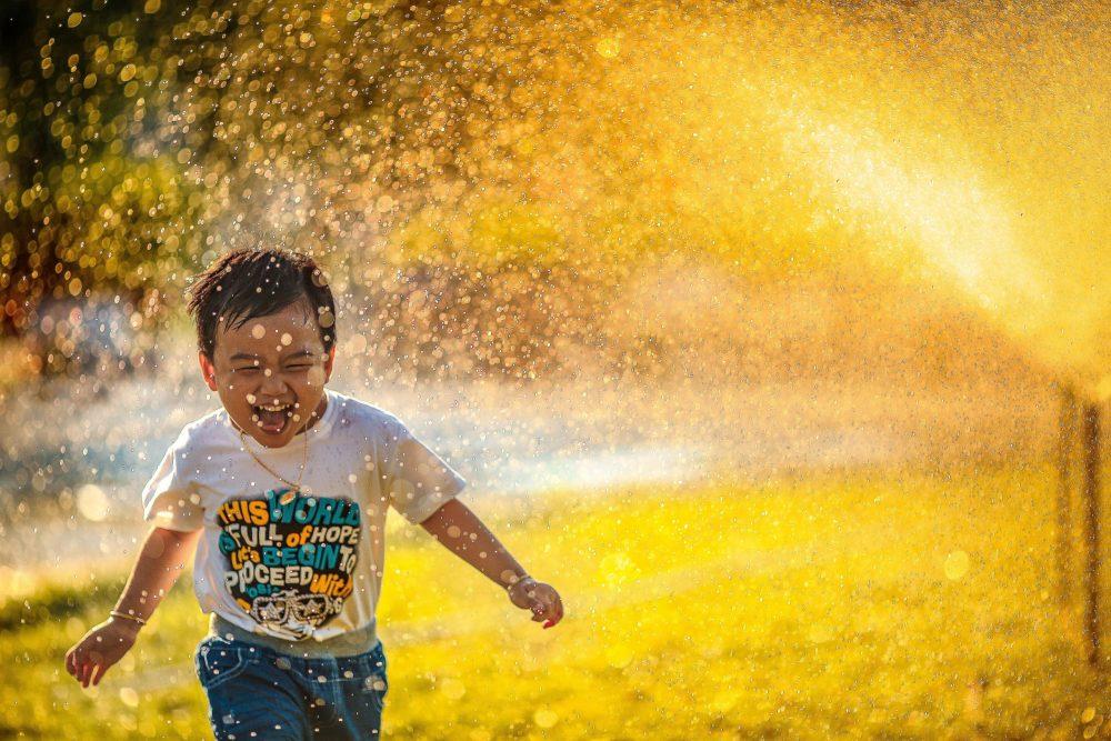 Kids enjoying life